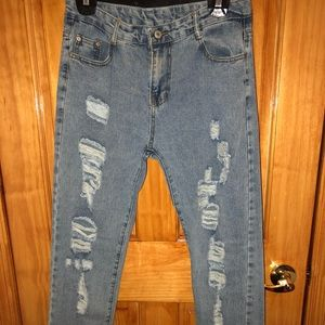 👖Light wash jeans